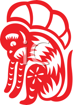 Royalty Free Clipart Image of a Monkey